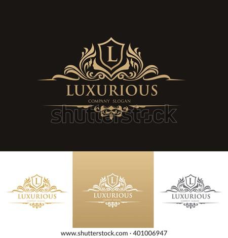 Luxury Logo,Vector logo template