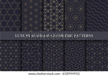 luxury seamless ornamental