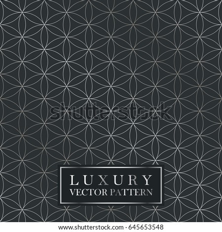 luxury seamless ornate pattern