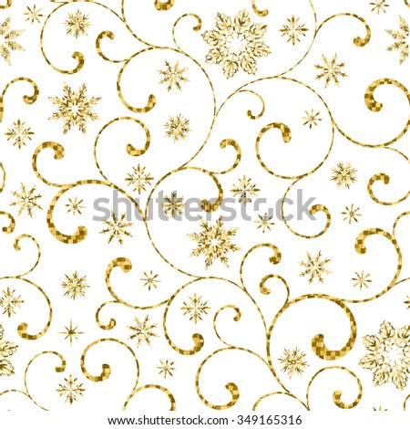 luxury seamless pattern with