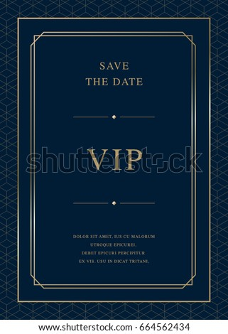 Luxury vector background card template with vector pattern swatch