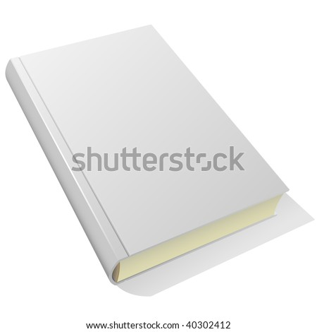 lying blank hardcover book