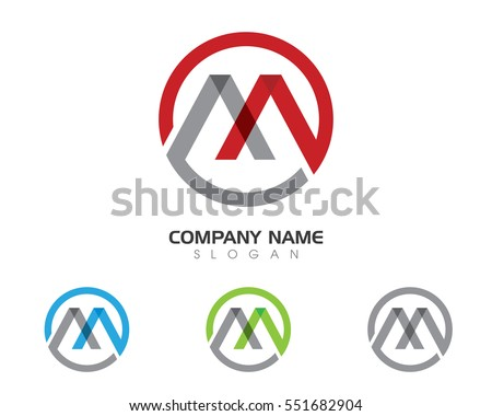 m letter logo business