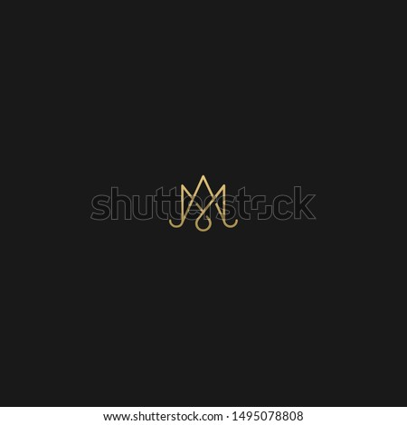 m mm  am with crown logo in