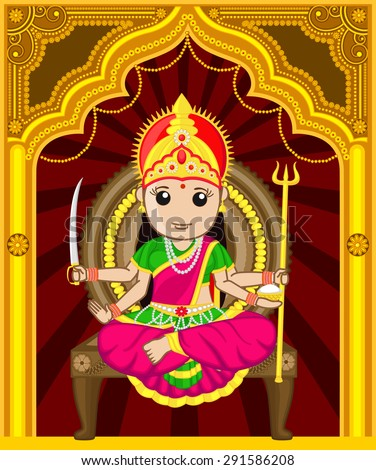 maa santoshi   cartoon indian