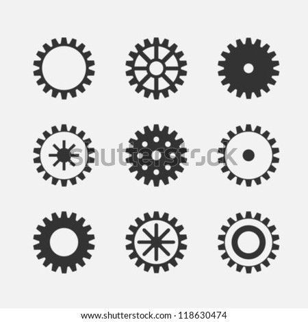 Machine Gear Wheels