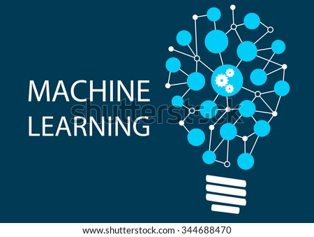Machine learning concept. Innovative new technology