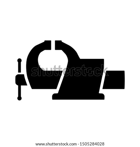 machine vice icon - From Working tools, Construction and Manufacturing icons, equipment icons