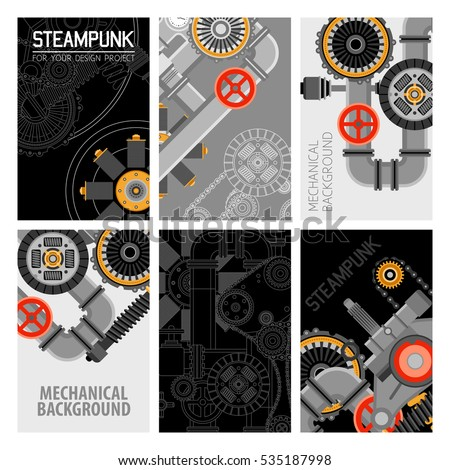machinery parts brochures