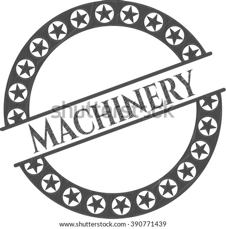 Machinery penciled