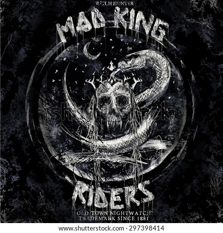 mad king riders rock and roll