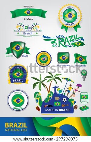 made in brazil seal  brazilian