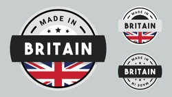 Made in Britain collection with Britain flag symbol.
