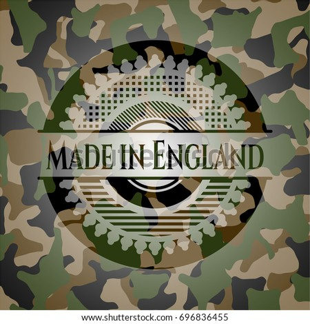 made in england camouflaged