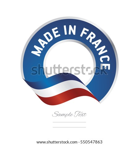 made in france flag blue color