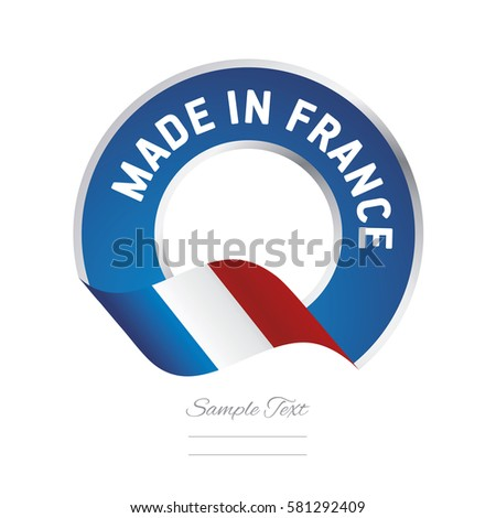 made in france flag blue color