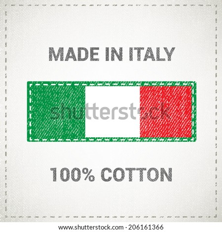 made in italy label