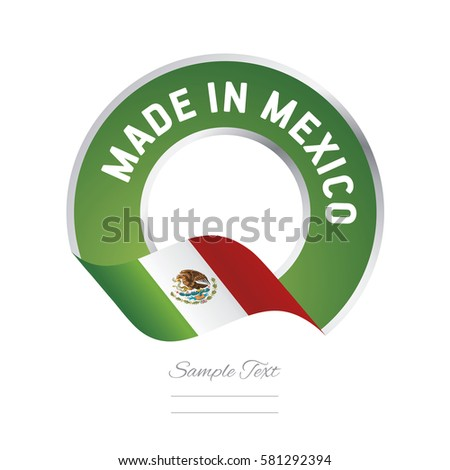 made in mexico flag green color