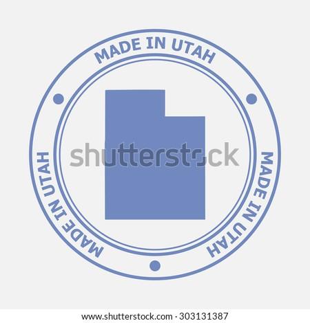 made in utah seal sign of