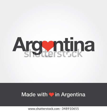 made with love in argentina