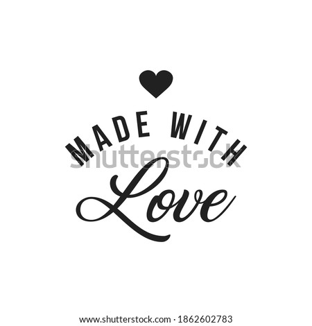 made with love inscription