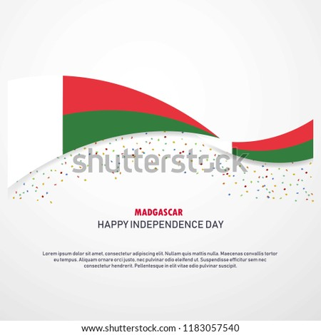 Madgascar Happy independence day Background