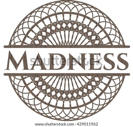 Madness realistic wood emblem