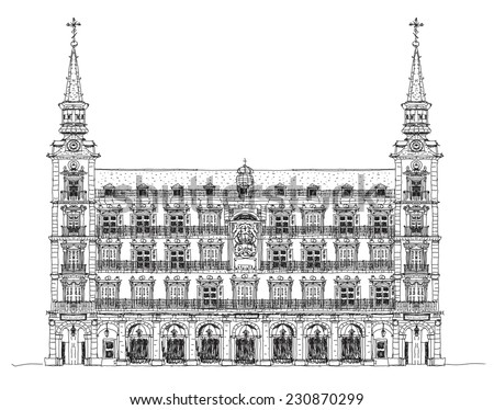 madrid  house of phillip iii in