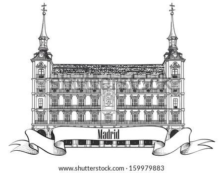 madrid landmark spain symbol
