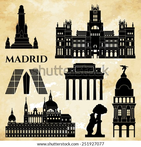 madrid monuments detailed