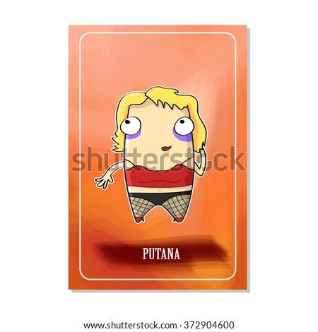 mafia cards a prostitute