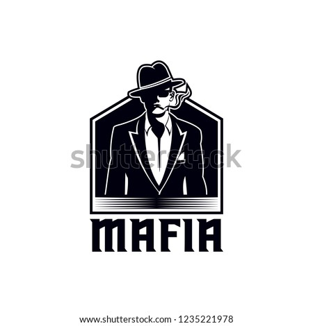 mafia vector illustration
