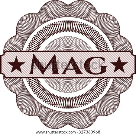 Mag linear rosette