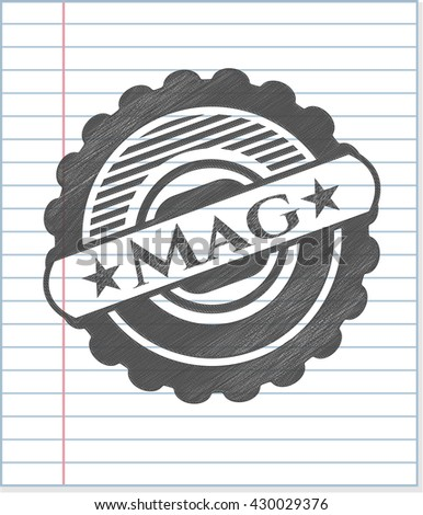 Mag penciled