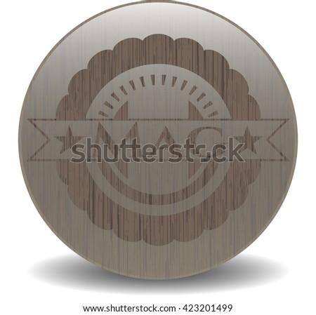 Mag realistic wood emblem