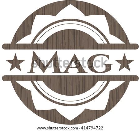 Mag wooden emblem