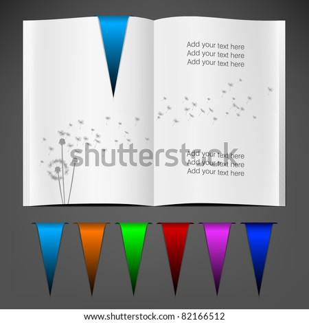 Magazine Blank Page Template