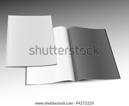 Magazines template