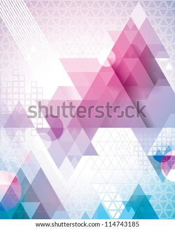 magenta triangles