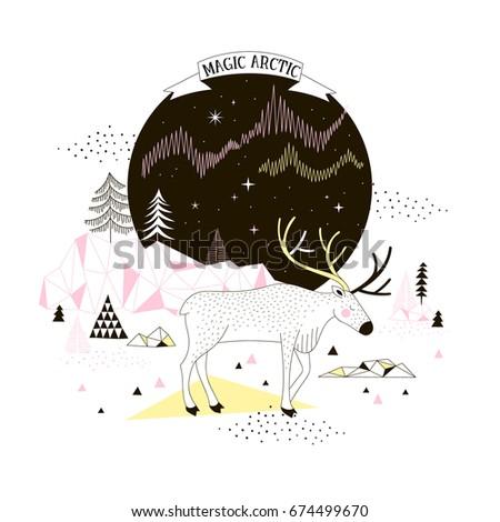 magic arctic poster