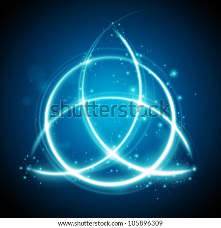 magic background celtic knot
