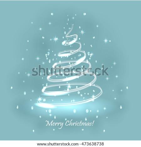 magic christmas tree light