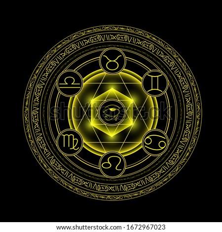 magic circle ring  magic spell