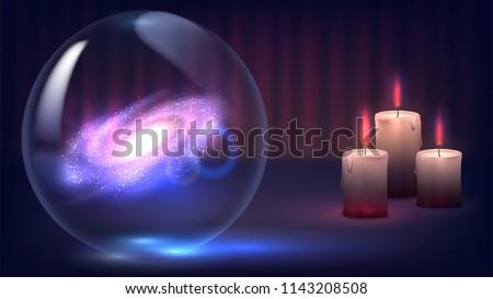 magic crystal ball of