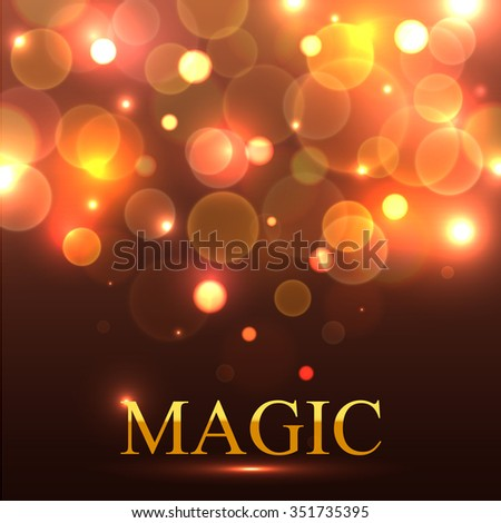 magic delightful background for