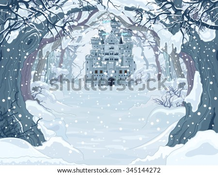 magic fairy tale winter