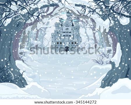 magic fairy tale winter