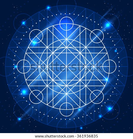 magic geometry sign vector