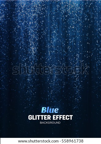 magic glitter background in