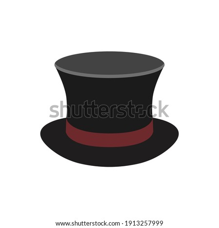 magic hat icon of color style  design vector template Сток-фото ©